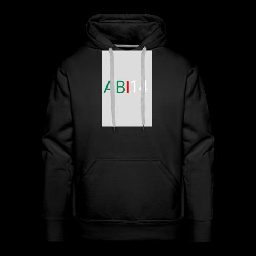 ABI14 - Sweat-shirt à capuche Premium pour hommes