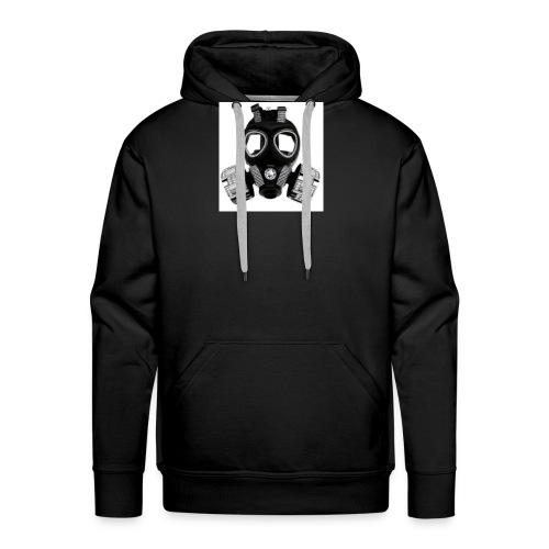 T-shirt modéle masque à gaz - Sweat-shirt à capuche Premium pour hommes