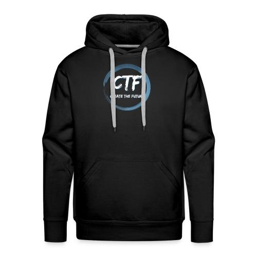 CTF BLUE/WHITE - Mannen Premium hoodie