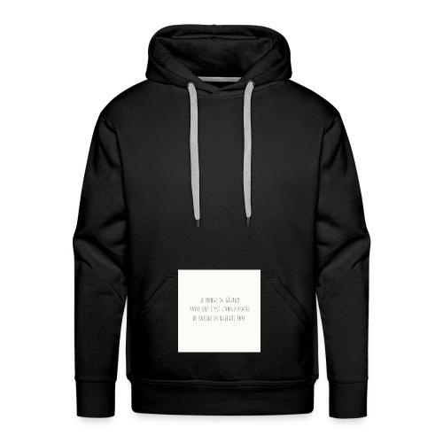 Gateaux - Sweat-shirt à capuche Premium pour hommes