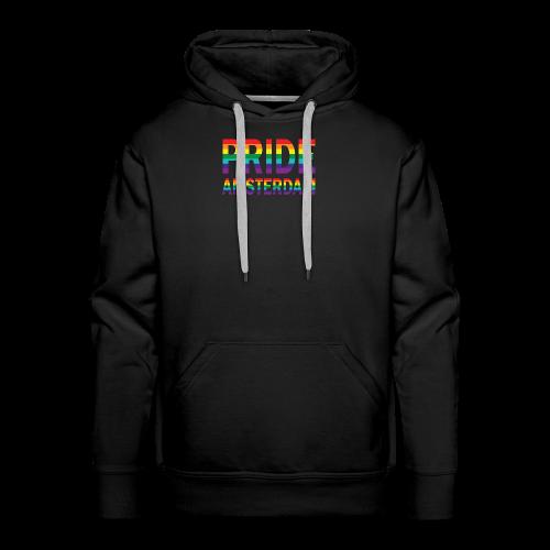 Pride Amsterdam in regenboog kleuren - Mannen Premium hoodie