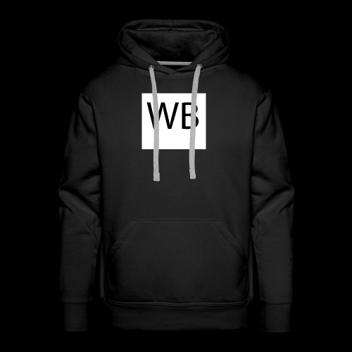 WB Logo - Männer Premium Hoodie
