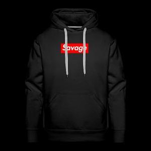 SavageDamian - Mannen Premium hoodie