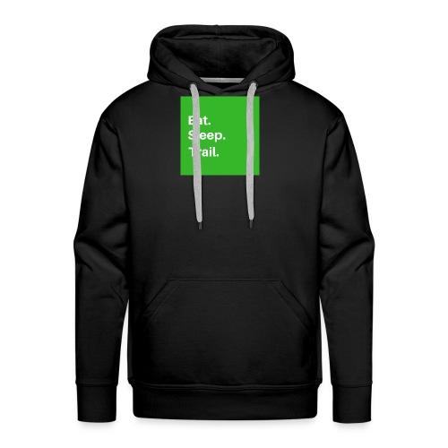 Eat.Sleep.Trail - Sweat-shirt à capuche Premium pour hommes