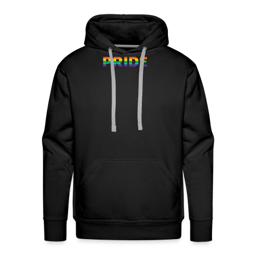 Gay pride in rainbow kleuren - Mannen Premium hoodie