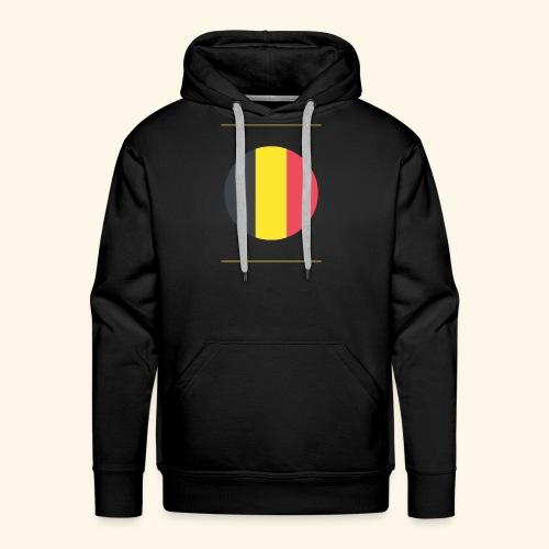 Belge - Sweat-shirt à capuche Premium pour hommes