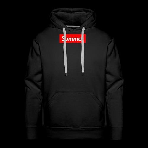 Sommer Logo - Premium hettegenser for menn