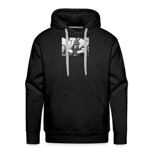 Portrait - Sweat-shirt à capuche Premium pour hommes