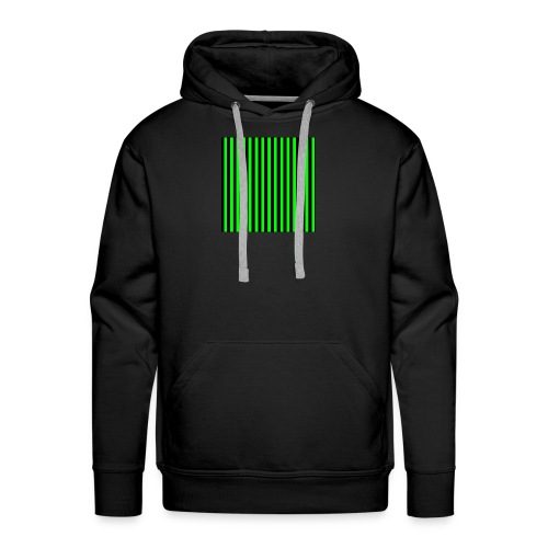 The henrymgreen Stripe Multi - Men's Premium Hoodie