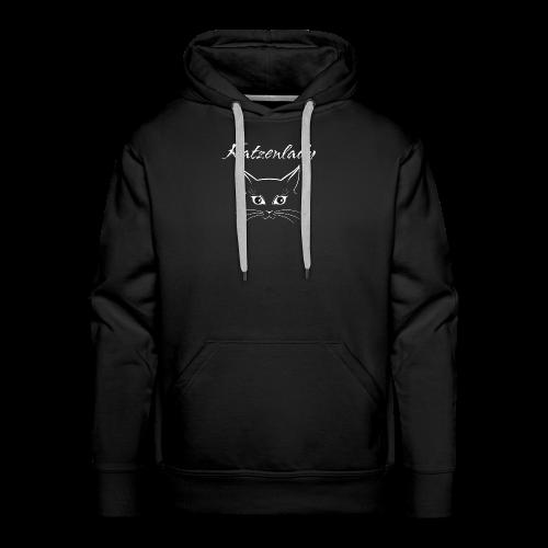 Katzen T-Shirt - Katzenlady - Männer Premium Hoodie