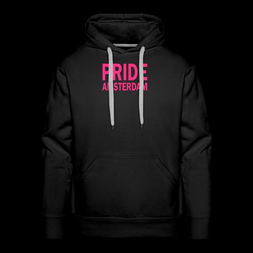 Pride Amsterdam in roze - Mannen Premium hoodie