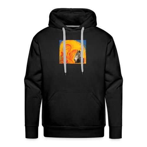 Pferd mit Herz - Männer Premium Hoodie