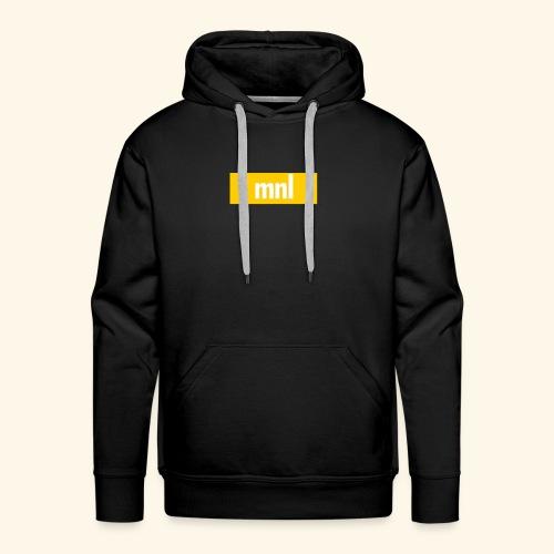 mnl Box Logo. - Männer Premium Hoodie