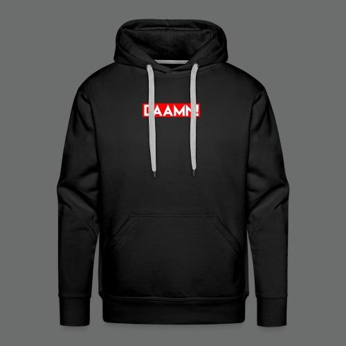 DAAMN Red bar - Männer Premium Hoodie