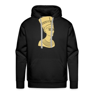 Nefertiti – Königin von Ägypten. Auch Golddruck! - Männer Premium Hoodie