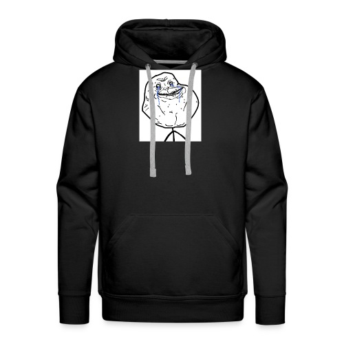 troll face - Men's Premium Hoodie
