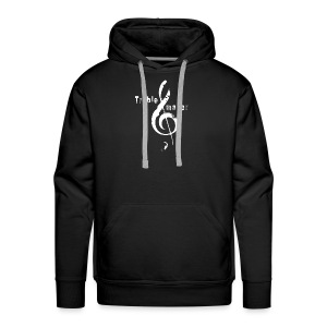 treble_maker-white - Men's Premium Hoodie