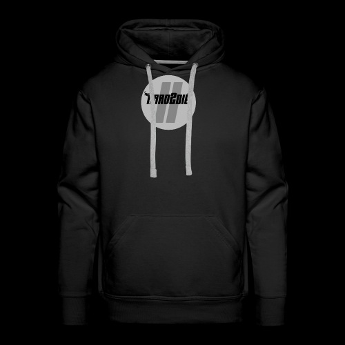 Hard2die Logo - Männer Premium Hoodie