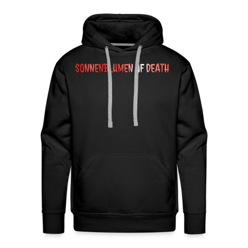 Sonnenblumen of Death Logo - Männer Premium Hoodie