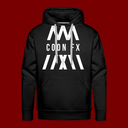 COON FX- WHITE - Männer Premium Hoodie