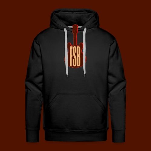 FSB Guitar Logo - Men's Premium Hoodie