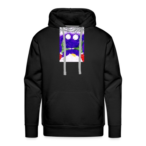 Monstruo - Sudadera con capucha premium para hombre