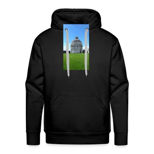 Pisa mágica - Sudadera con capucha premium para hombre