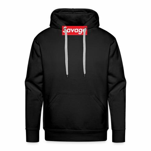 Savage Collection-Massimo Piccione - Felpa con cappuccio premium da uomo