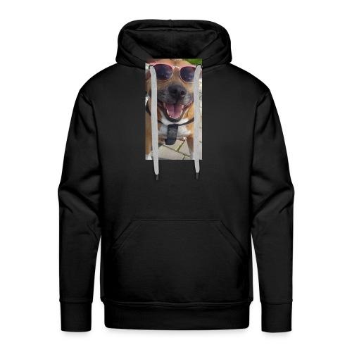 Cool Dog Foxy - Mannen Premium hoodie