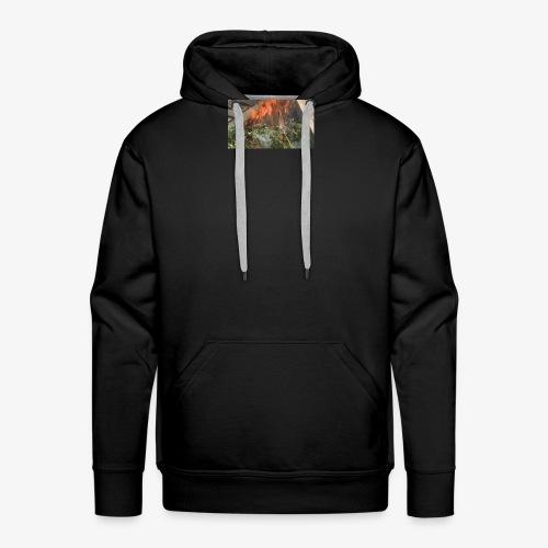 Burning weed, right? - Men's Premium Hoodie