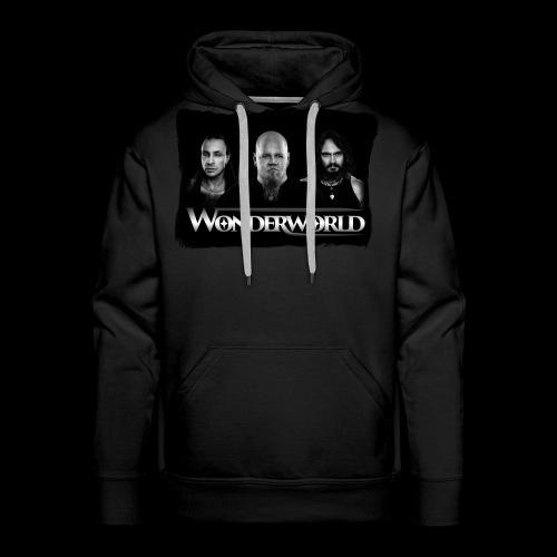 Wonderworld Black and white - Premium hettegenser for menn
