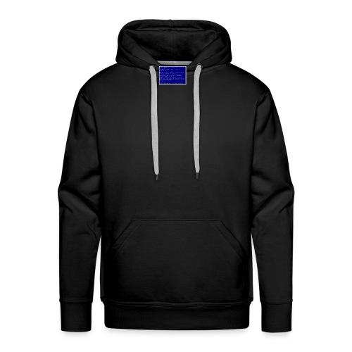 Blue SocialSocial screen - Herre Premium hættetrøje