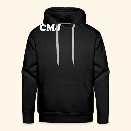 CMJ white merch - Men's Premium Hoodie