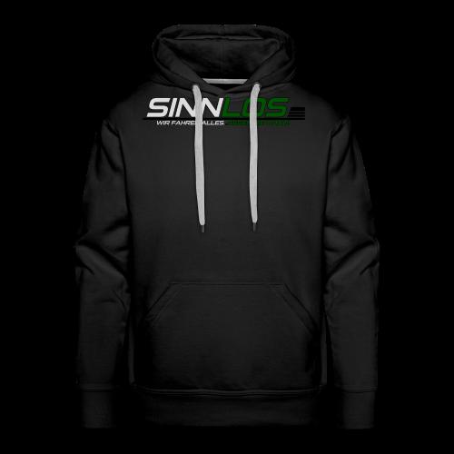 Sinnlos Logo - Männer Premium Hoodie