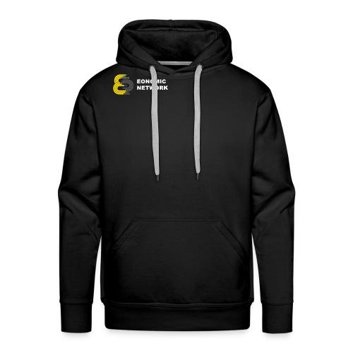 Logo mit Aufschift - Männer Premium Hoodie