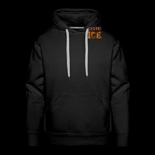 EXOTIC ICE - Herre Premium hættetrøje