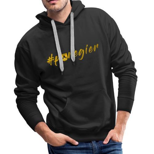 #puregier (Design 2018) Wappen - Männer Premium Hoodie
