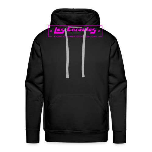 Rocking since 2001! Pink - Sweat-shirt à capuche Premium pour hommes