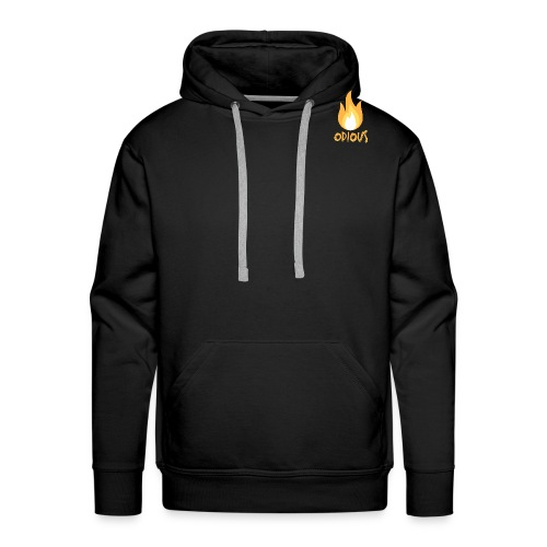 odious flame outlined - Mannen Premium hoodie