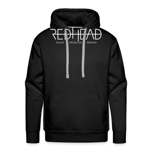 Redhead-Standard [WHITE] - Männer Premium Hoodie