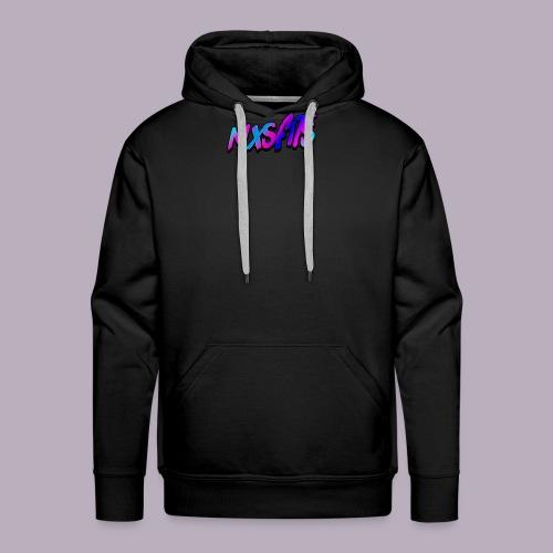 mxsfits logo - Men's Premium Hoodie