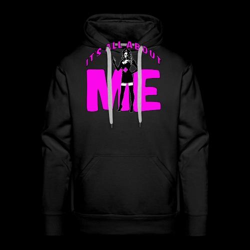 All About me Nurse Pink - Men's Premium Hoodie