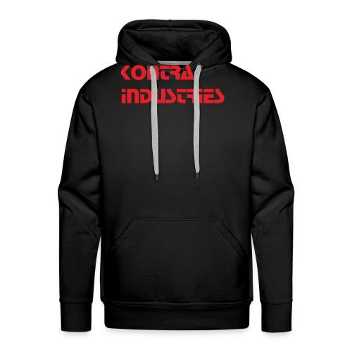 Kontra Industries Red GROß - Männer Premium Hoodie