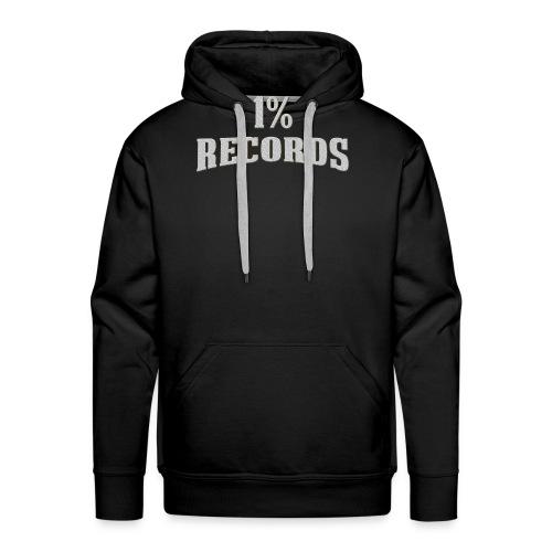 1 Prozent Records Logo - Männer Premium Hoodie