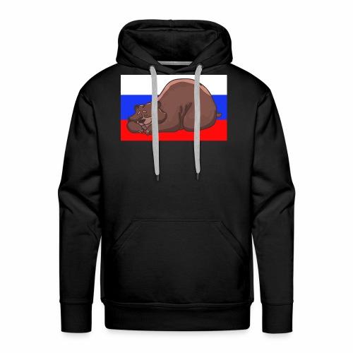 Russian Bear - Männer Premium Hoodie