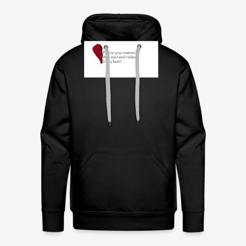 Heart Art - Männer Premium Hoodie