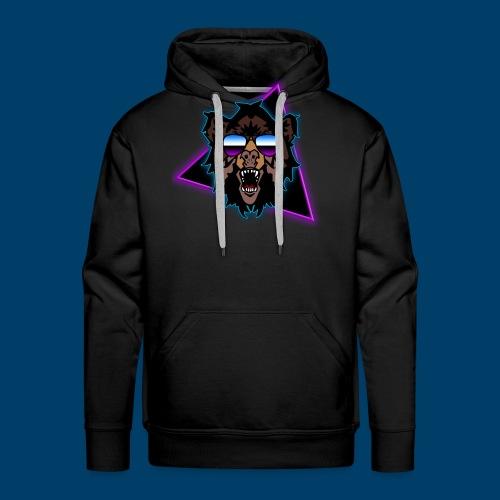 Grizzly 80's - Men's Premium Hoodie
