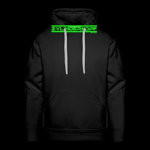 Zylinderkopf classic green Edition - Männer Premium Hoodie