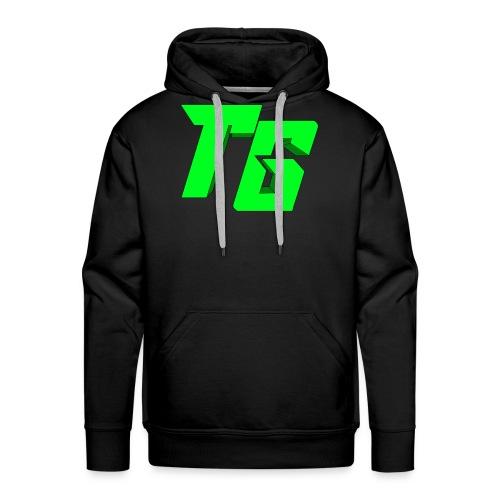 Tristan Jeux marchandises logo [LOGO BIG] - Sweat-shirt à capuche Premium pour hommes