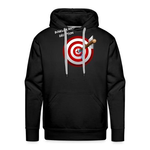 Bouclier anti-déception - Sweat-shirt à capuche Premium pour hommes